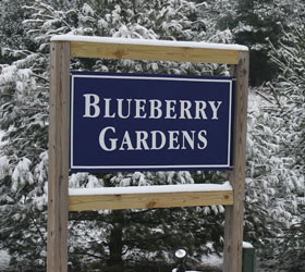 Photo of Blueberries Gardens Entrance Door